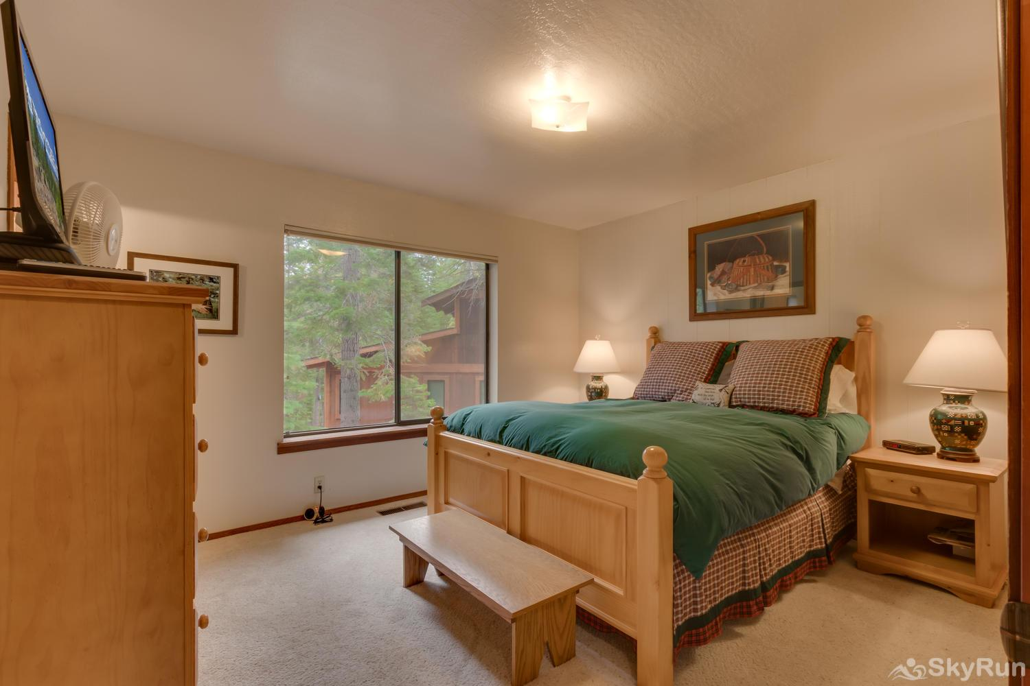 Grizzly Bear Cabin at Northstar Master Bedroom