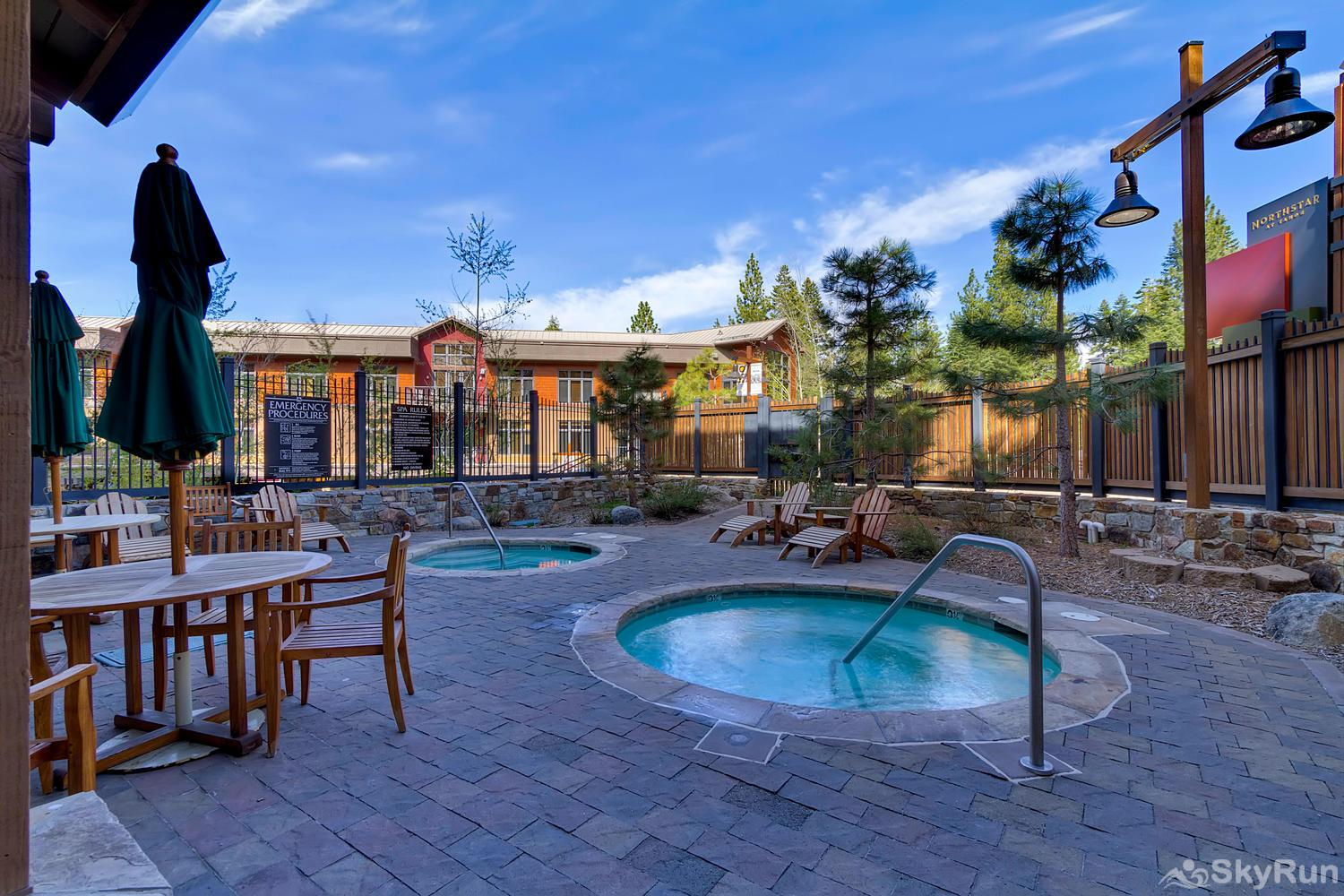Catamount 306 - In the Heart of Northstar Resort Hot Tubs and Patio