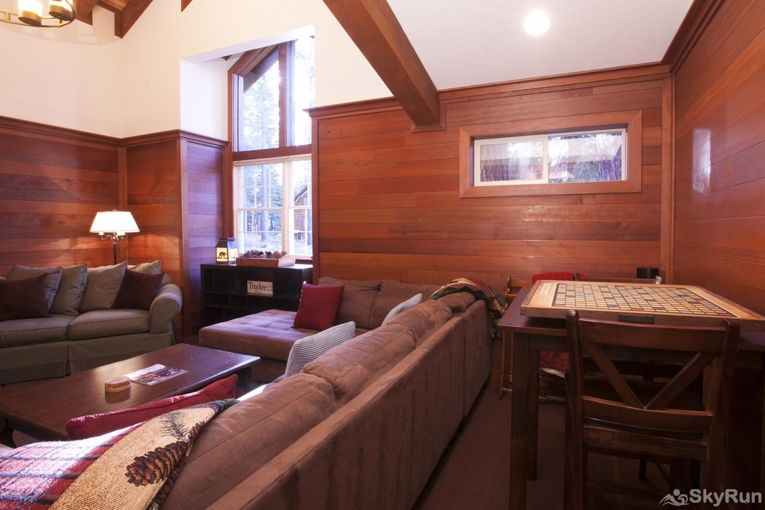 Northstar Luxury Lodgepole Retreat Family/Game Room (alt view)