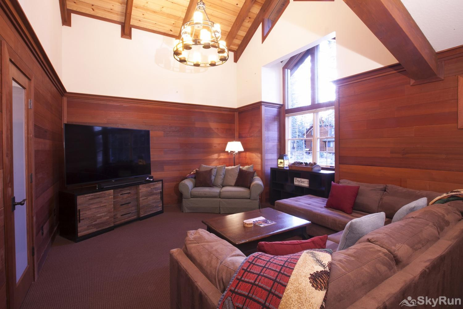 Northstar Luxury Lodgepole Retreat Family/Game Room (main level)
