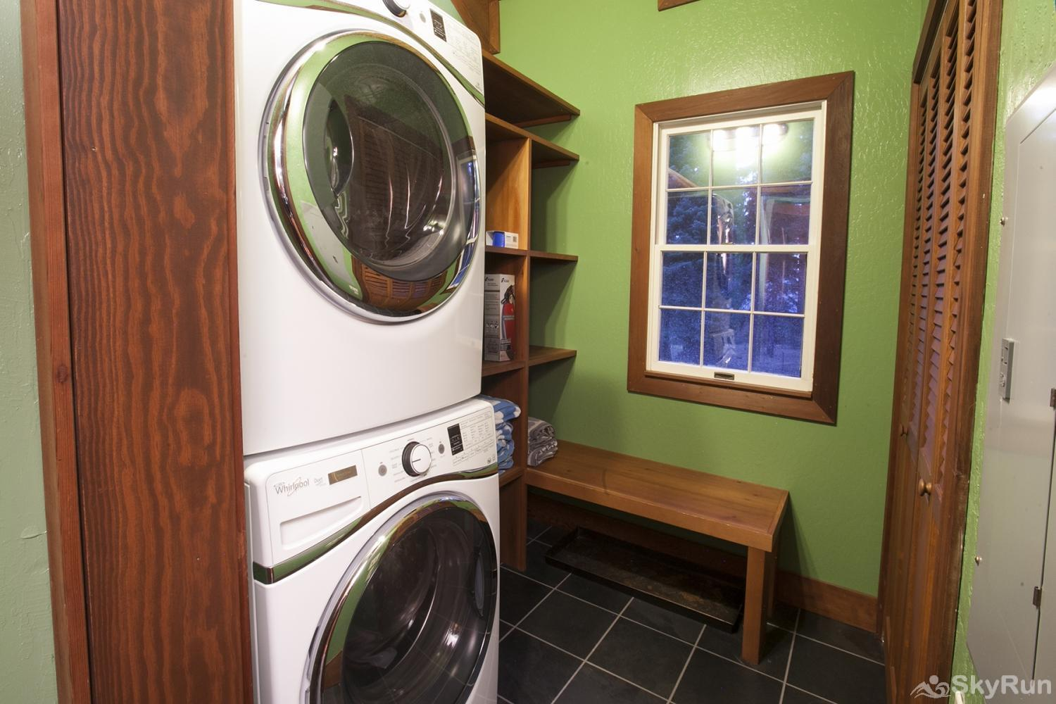 Northstar Luxury Lodgepole Retreat Laundry Room (main level)