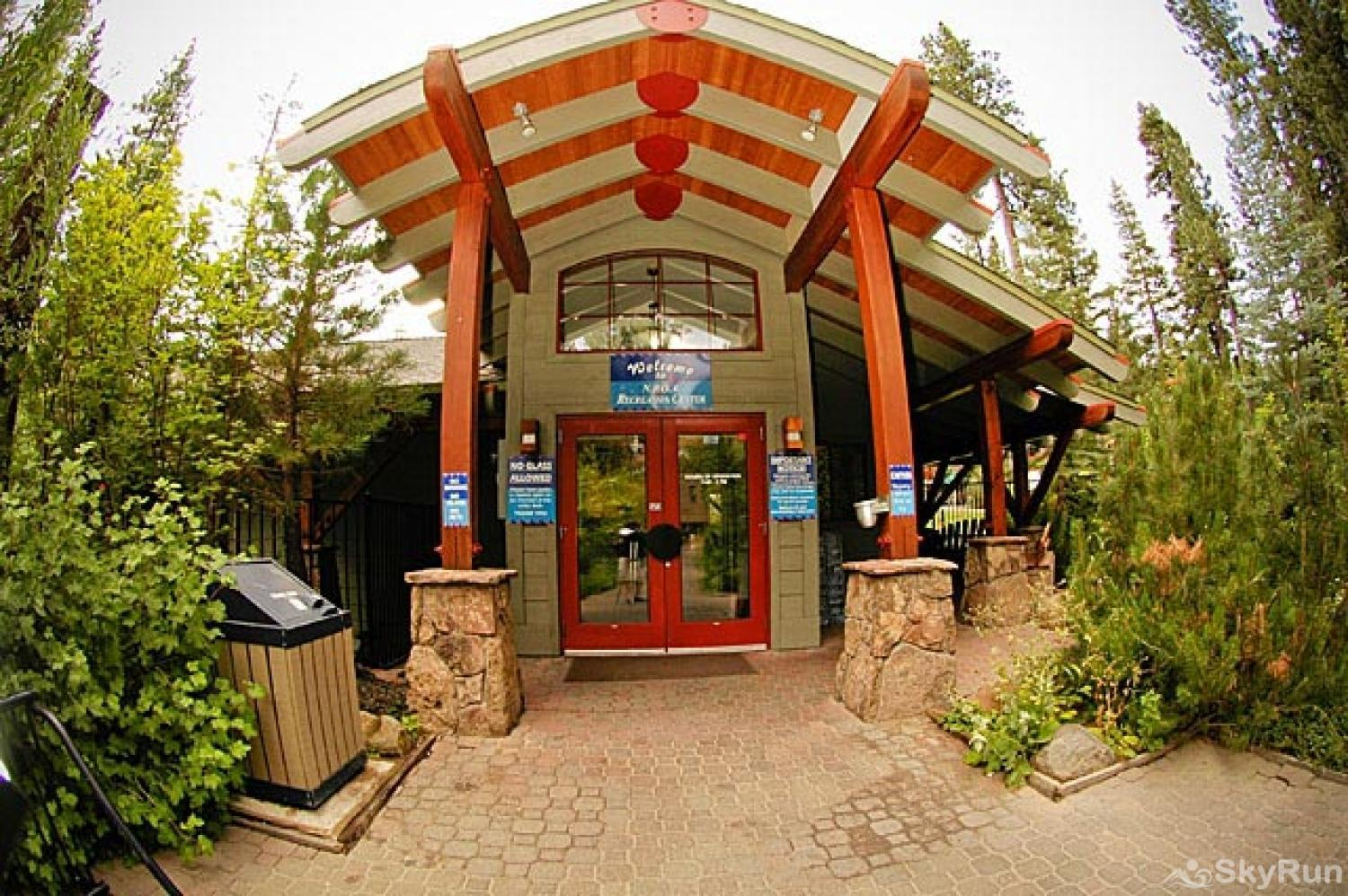 Northstar Luxury Lodgepole Retreat NPOA Recreation Center Entrance