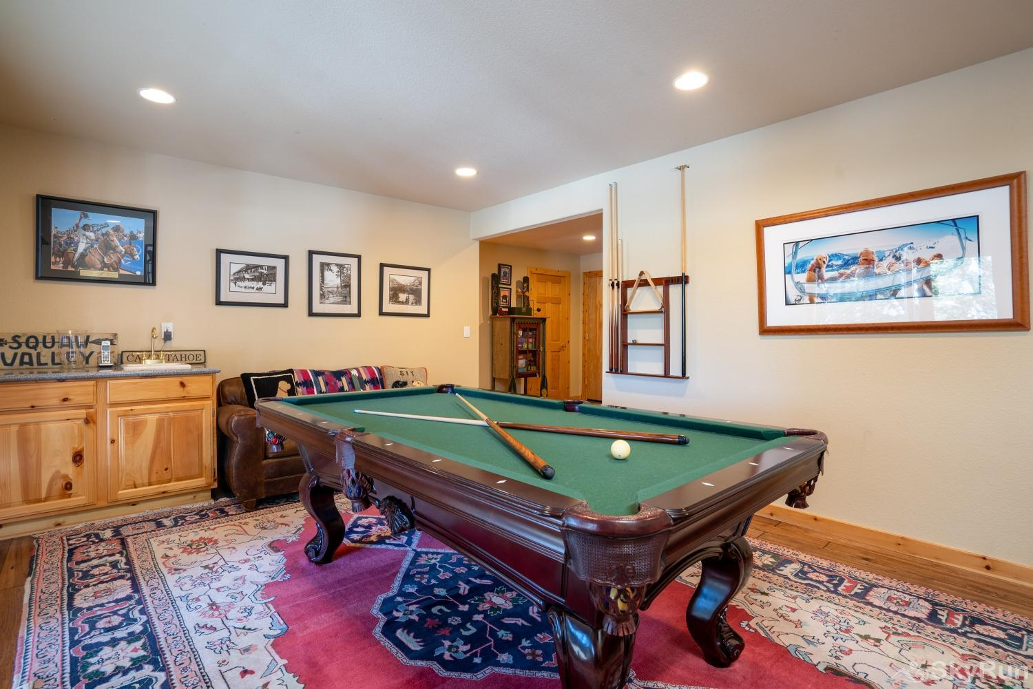 Talmont Ridge Retreat Game Room (lower level) - alt view