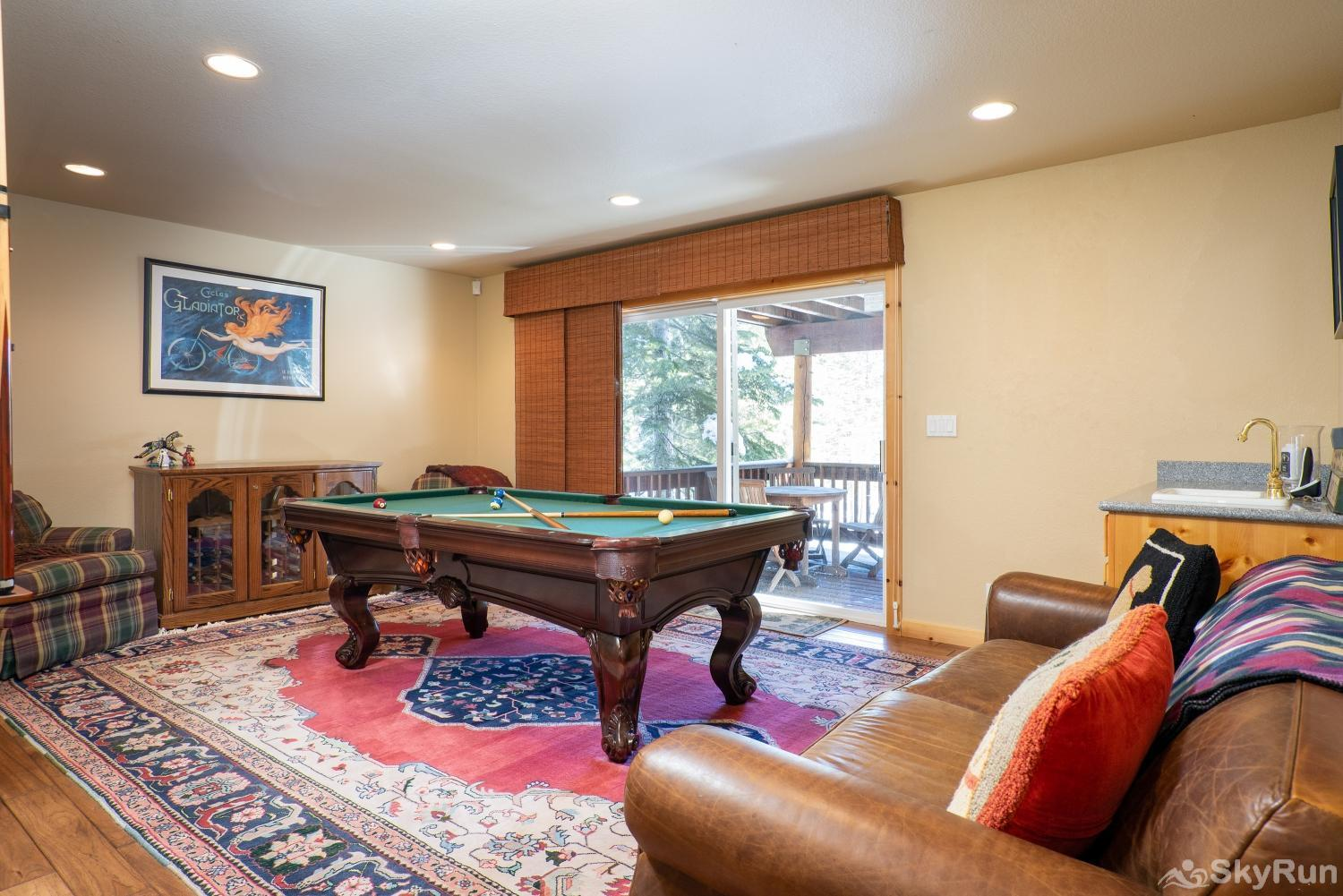 Talmont Ridge Retreat Game Room (lower level)